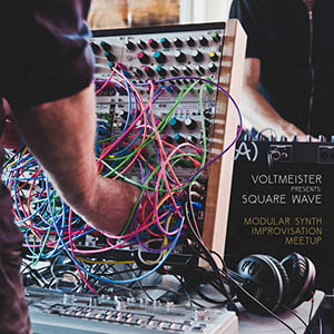 album cover of Square Wave release by Voltmeister